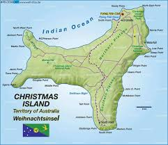 christmas island re calibrated o resonances on 11 march 2015