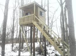 Hunting Blind Manufacturers Wildlife Observation Tower Hunting Blind Playhouse Curry Lumber
