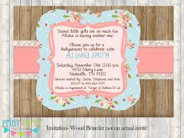 photo baby invitations for a image