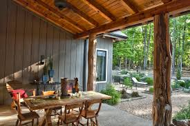 Timber Patio Designs Breathtaking Rustic Patio Designs That Will Instantly Chill You