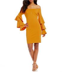 honey clothing gianni bini fan fav tinsley tiered ruffle sleeve the shoulder