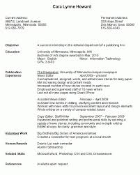 Examples Of Resume For College Students by College Graduate Resume Plush Sample Resume For College Students
