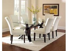 Steve Silver Dining Room Furniture Steve Silver Dining Room Berkeley Bonded Parsons Chair White