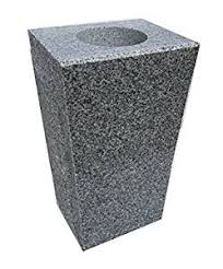 Rock Vases Amazon Com Granite Vase Tapered 5