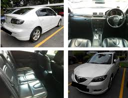 cheap mazda mazda 3 sp lux 1 6l cheap car rental singapore