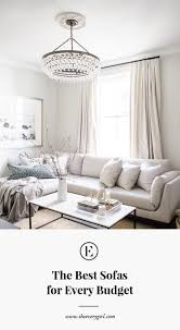 Best Sofa For Living Room by The Best Affordable Sofas For Every Budget The Everygirl