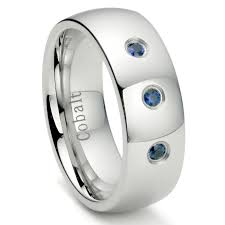 mens wedding bands cobalt wedding rings most scratch resistant wedding band cobalt