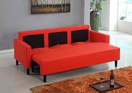 inspiring red leather sleeper sofa sofa beds u2013 interiorvues