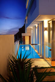 architecturally innovative lap pool sunset pools sydney