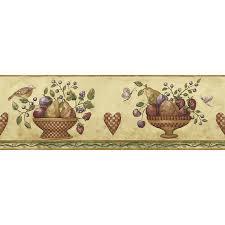 Kitchen Wallpaper Borders Primitive Wallpaper Borders 2017 Grasscloth Wallpaper