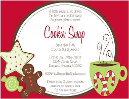 christmas cookie party invitations oxsvitation com