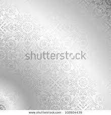 seamless silver damask wallpaper stock vector 102604439 shutterstock