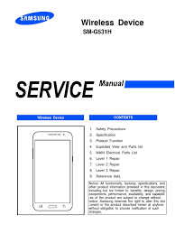 sm g531h service manual electrostatic discharge electronics
