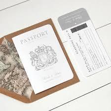 around the world u0027 passport wedding invitation by ditsy chic