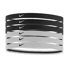 headband sport rebel sport nike elastic swoosh sport headband 6 pack
