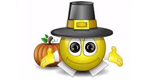 happy thanksgiving talking smiley symbols emoticons