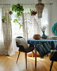 Boho Window Curtains My Budget Boho Window Curtains A Designer At Home