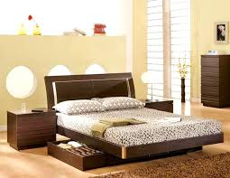 low height bed modern furniture designer bed