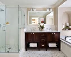 bathroom lovely bathroom with dark vanity throughout houzz