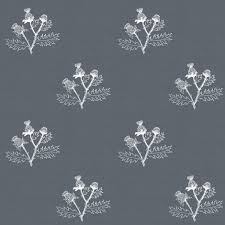 thistle sketch on grey 5d646c fabric thistleandfox spoonflower