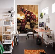 avengers hulkbuster design paper wallpaper homewallmurals