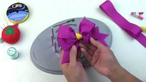hair bow maker bow genius 4 loop tails bow diy bow maker