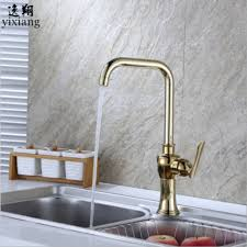 free faucet kitchen free shipping gold chagne faucet basin faucets gold faucet