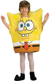 amazon kids halloween costumes amazon com spongebob squarepants child u0027s costume medium toys