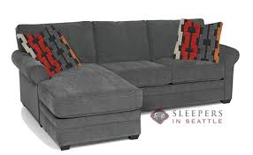 Sectional Sleeper Sofa With Chaise Quick Ship 283 Chaise Sectional Fabric Sofa By Stanton Fast