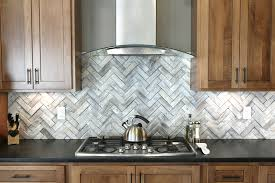 kitchen backsplash stainless steel and glass tiles stainless