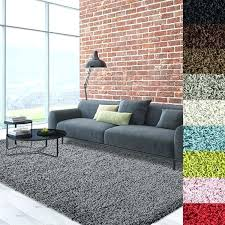 opulent soft area rugs for living room cozy soft and dense shag