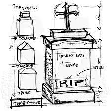 tim holtz wood mounted stamp tomb sketch u2 1945