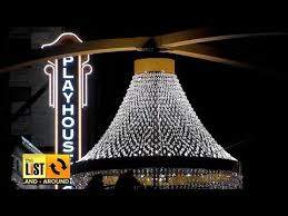 Cleveland Outdoor Chandelier Around Cleveland Chandelier Lights Up Social Media In Cle Youtube
