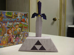 Master Sword Papercraft - master sword oot papercraft by lantis02 on deviantart