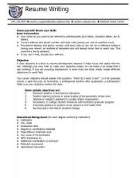 summary for job resume examples of resumes 79 captivating job resume duties examples