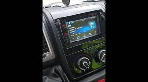 radio gms 6401 fiat ducato youtube