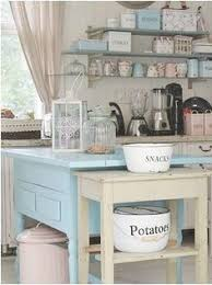 Shabby Chic Kitchen Design Real Homes Vintage Style Victorian House Vintage China