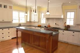 Kitchen Pot Filler Faucets Decorating Charming Soapstone Countertops With Copper Rangehood