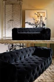 Canape Lit Confort Luxe Luxury Luxurious Modern Button Upholstered Velvet Sofa Luxury Modern And