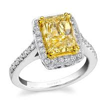 canary yellow engagement ring yellow engagement rings