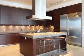 modern kitchen ideas with brown kitchen cabinets interiors