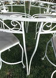 Rod Iron Patio Table And Chairs Used Wrought Iron Patio Chairs White Wrought Iron Patio Table And