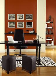 red home office ideas vibrant red home office paint color schemes