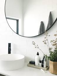 Black Mirror For Bathroom S Home Black And White Bathroom Reveal Style Curator