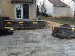 Irregular Stone Patio Decks Com Fredericksburg Va Deck Builder Pictures Northern