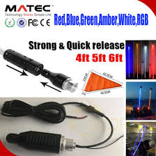 led light whip for atv china 4 foot quick release atv utv led light whip led flag 6