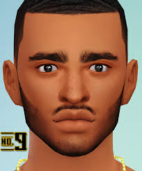 sims 4 blvcklifesimz hair blvcklifesimz 14 new facial hairs not all the african sim