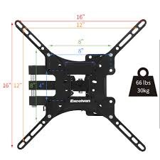 samsung tv wall mount kit tilt swivel tv corner wall mount bracket swing arm for 10 u0026 034