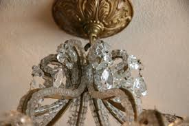 beaded crystal chandelier how to clean antique crystal chandeliers u2014 home ideas collection