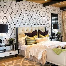 wall stencils for bedroom home decor wall stencils modern bedroom new york by janna